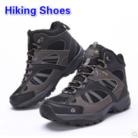 2014 Autumn And Winter Hot-Selling Men and Women High Cut Hiking Shoes Outdoor Breathable Waterproof Sports Shoes Plus Size Big