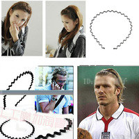 Wire short hair bands with teeth Korea rivets issuing new black hair bands hair bands hair accessories hairpin bellows