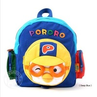 New arrival 2013 pororo penguin anti-lost child backpack male girl school small baby young children bag