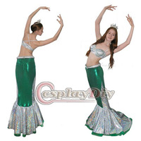 Free Shipping Customized Mermaid Tail Costume Mermaid Dress Not including the Top