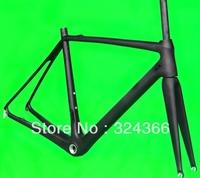 FR322 Full carbon UD Matt Matte road bike frameset BSA  frame included fork and headset