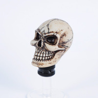 Skull car gear stick head shift knob gear head automobile race gear head manual general