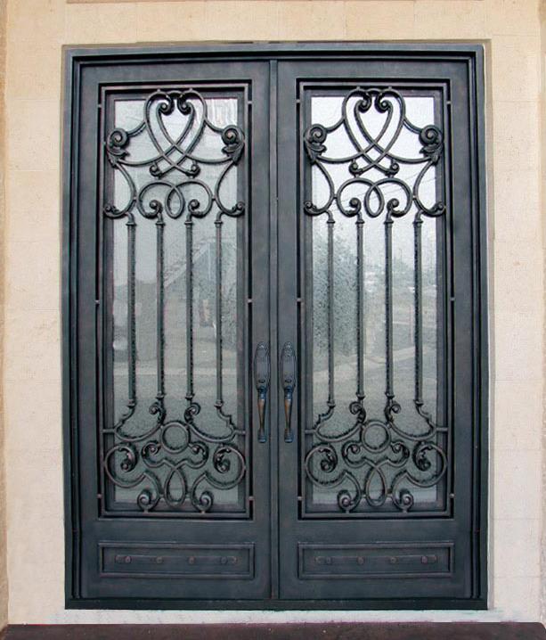 Steel Glass Doors Door Double Steel Security