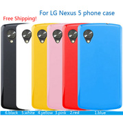 New arrival soft case for lg nexus 5 E980 jelly series cover case for LG Nexus 5 mobile phone case Free Screen Protector as gift