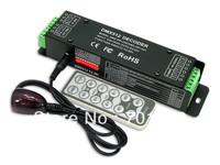 DMX-SPI-200 DMX-SPI Decoder with IR remote;support WS2801/WS2811/WS2812/WS2812B/TM1804/TM1809/INK1003/1903.etc IC