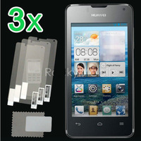 Retail Packing New 3x CLEAR LCD Screen Protector Guard Protective Film Cover Film For Huawei Ascend Y300 Free Shipping