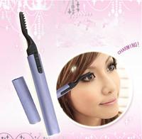Hot Sale Protable Electronic Eyelash Curler Mini Perm Eyelash Curlers Tool Free Shipping