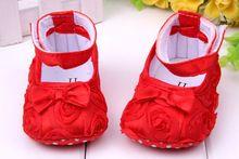 Sapatos para Meninas todder pré -walker flor sapatos infantil Prewalker menina macios sapatos único bebê sapatos navio Pouco Primavera Gota(China (Mainland))