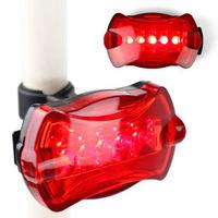 Unibike bicycle rear light butterfly rear light warning light led7 waterproof shockproof rear light