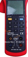 free shipping UNI-T TRUE RMS Harmonic Analysis CLAMP POWER METER UT243