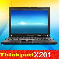 Used laptop lenovo Thinkpad x201 intel i5 520M 2 4G 4G 500G 12 inch widescreen ultrathin
