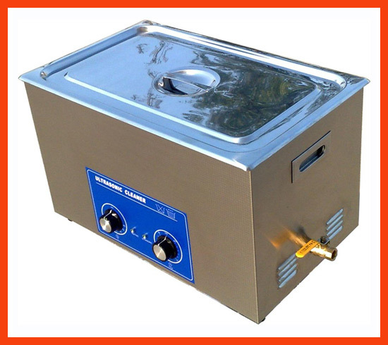 22L industrial Ultrasonic parts Cleaner with heater and timer.Easy operation for factory using.discount and OEM.(China (Mainland))