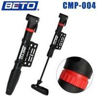 Beto cmp-004 series single-cycle swing plastic mini bicycle pump
