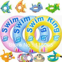 Animal Water Sports Swimming Diving Swimming Ring kids swimming accessories children Swim Circle Float Ring Free Shipping