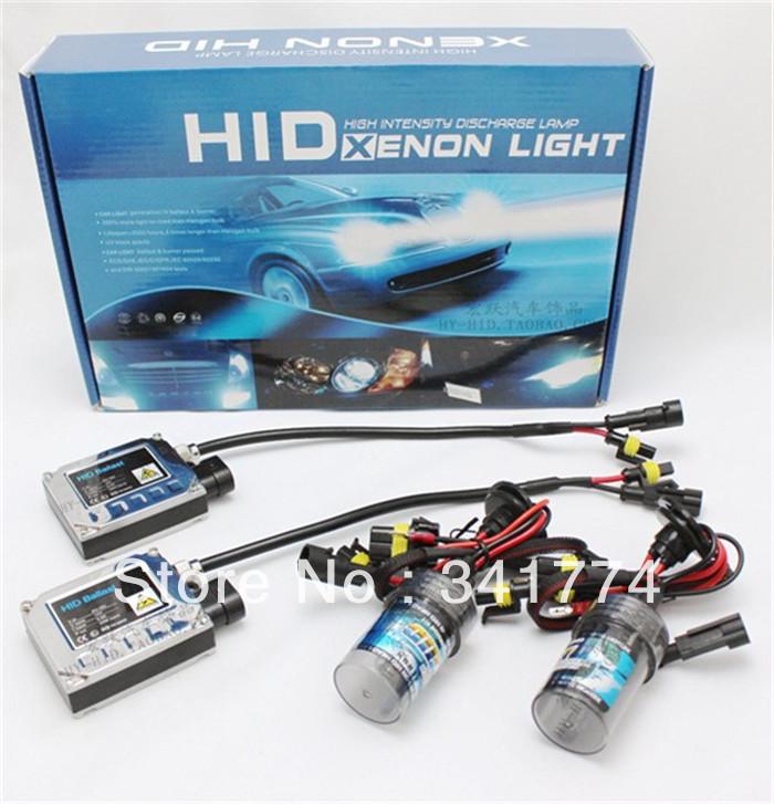 12V 35W Cars HID Xenon Headlamp conversion lighting Kit H1 H7 H11 9005 9006 6000K parking car styling auto parts atv Accessories(China (Mainland))