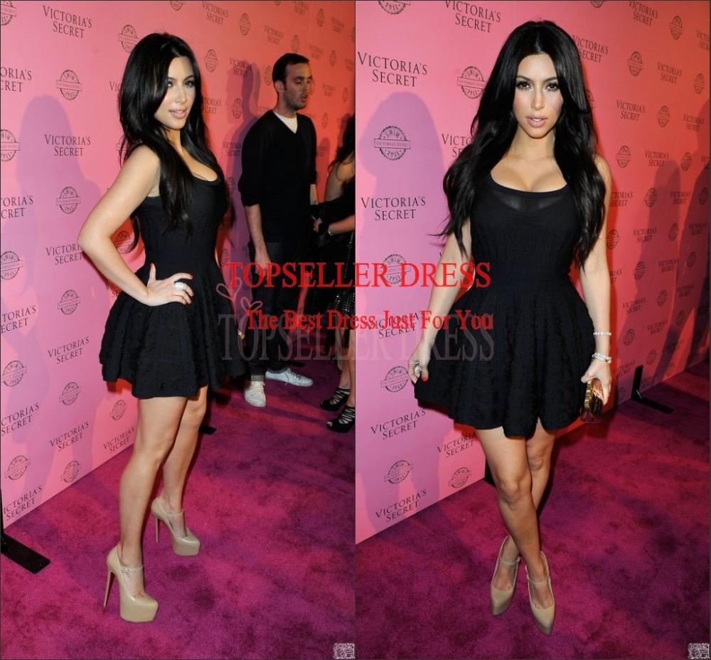 Fantástico Kim Kardashian Cocktail Dress Ideas Ornamento Elaboración ...