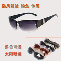 With Box Rimless sunglasses male frogloks exude riding eyewear sunglasses free shipping