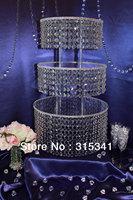 wedding acrylic crystal cake stand