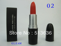 Free shipping DHL/EMS 120pcs/lot High Quality Brand M  Makeup lustre Lipstick 20 different colour with English name!!  BL002