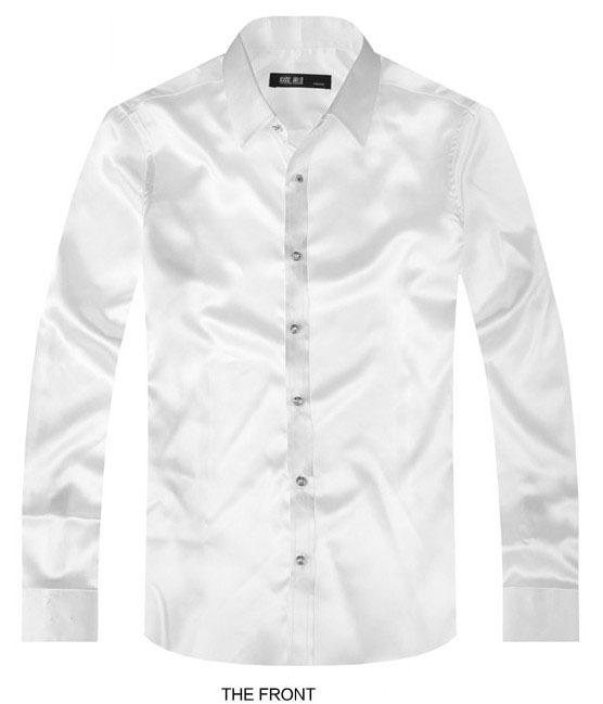 White Luxury The Groom Shirt