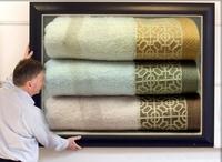 High Quality Promotion Wholesale Luxury Large beach 100% Cotton 70*140cm  brand bath towel