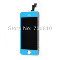 For iphone 5S light bule  LCD Display Touch Screen Digitizer Assembly replacement  free shipping