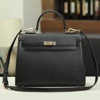 2014 New arrival Women fashion messenger-bag Women's leather handbags famous brand designer celebrity style shoulder-bags Y0301