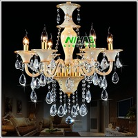 Modern Style K9 Crystal Chandelier High Quality Pendant Lamp Fast Shipping MD88002 L6