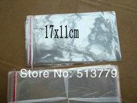 11x17cm  clear Plastic Self Adhesive Seal Packaging Bag poly  opp package bag