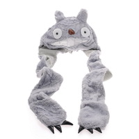 free shipping 17pcs/lot,Totoro hat women's autumn and winter anime hat winter cap beret EW-H-AP-007