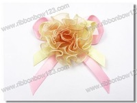 Garment ribbon flowers for kids accessories(2000 pieces /lot)