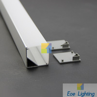 LED  Profile 1 Meter Recessed Aluminum LED Profile
