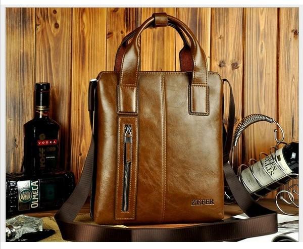 Купить брендовый кожаный портфель мужской для ноутбука