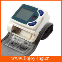 High quality Digital Wrist Blood Pressure Monitor & Heart Beat Meter with LCD display 8276 measuring instrument blood pressure