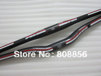 Wholesale FS 3K carbon fiber flat /riser bicycle handlebar 31.8*600/620/640/660/ 680/700/720mm free shipping