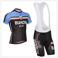 Hot sale!/New Arrival/2014 Bianchi3 Short Sleeve Cycling Jerseys+bib shorts (or shorts)/Cycling Suit /Cycling Wear/-S14BI3 000