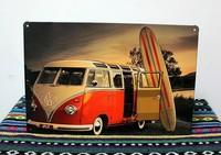 SPORT BUS paiting Tin Sign Bar pub home Wall Decor Retro Metal Art Poster N-12 Mix order 20*30 CM Free Shipping