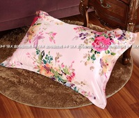 2014 Mulberry silk pillow cover double faced silk pillow case beauty skin care 01 - 24