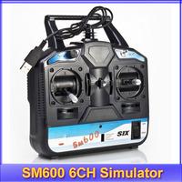 6CH USB RC Flight Simulator SM600 G3-G4.5 XTR Airplane +free shipping