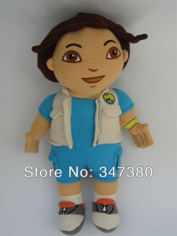 """Original Toy 15"""" Dora the Explorer Go Diego Go Plush Dolls Toys Retail(China (Mainland))"""