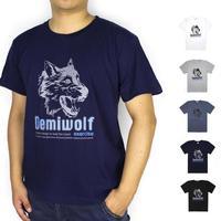 Wholesale brand Men T-Shirts,man tshirts, round neck T shirts, 2014 fashion short sleeve t shirt with wolf figure free shipping
