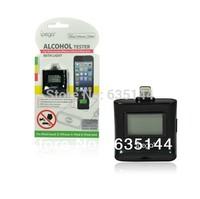 2014 hot sale iPEGA High quality Digital LCD Breath Alcohol Tester for iPhone5 iPad4 iPad mini breathalyzer Free Shipping-Melina