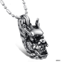 Opk fashion accessories 2013 jewelry titanium male personality necklace qx561
