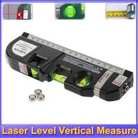 Register free shipping!! Level Laser Aligner Horizon Vertical Measure Tape 8FT