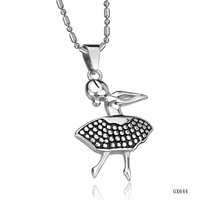 Opk accessories jewelry female fashion women's titanium necklace qx644