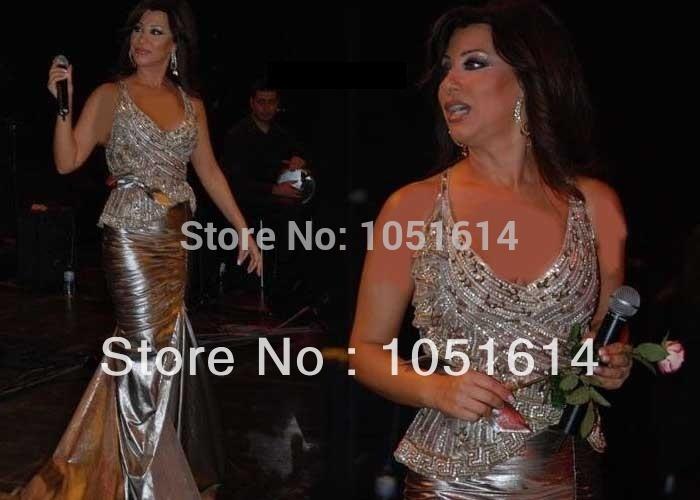 Top Quality Najwa Karam Dress