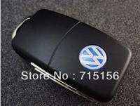 Free shipping+Drop shipping retail genuine Volkswagen VW car key usb2.0 1-32gb usb drive pendrive usb flash drive memory