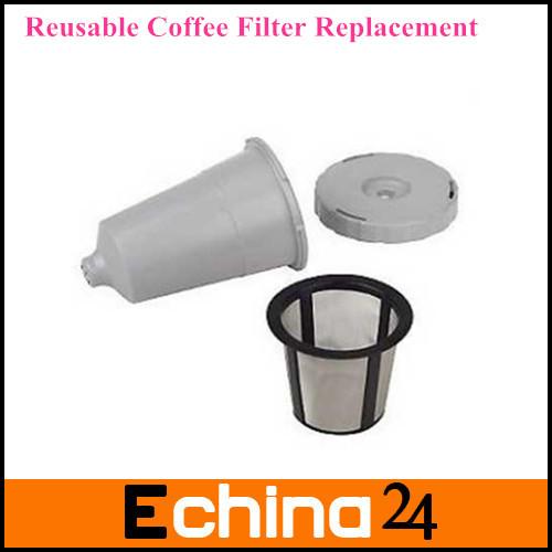 Keurig My K-Cup Reusable Coffee Filter Replacement Set Retail Packing fits B30 B40 B50 B60 B70 series Free Shipping(China (Mainland))