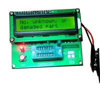 Transistor Tester Capacitor ESR Inductance Resistor LCR Meter NPN PNP MOSFET