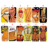 HOT Sexy Girls 12 Styles TPU Soft Case for iPhone 5 5S, Free Shipping